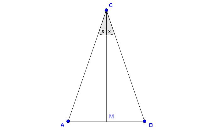 ligebenet trekant formel
