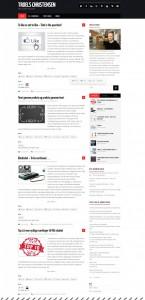 Bloggen - Design 1b